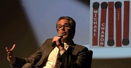 Michael Chabon declaiming