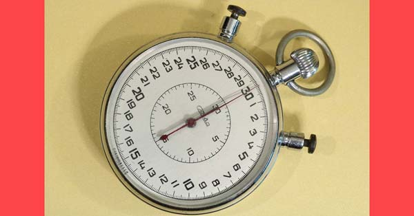 Journals that respond quickly [Photo: stopwatch]
