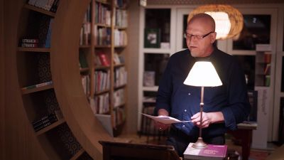 John Carnegie reading from 'Otis: An Introduction'