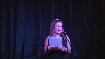 Liz Prieto reading 'Arminda Rosa'