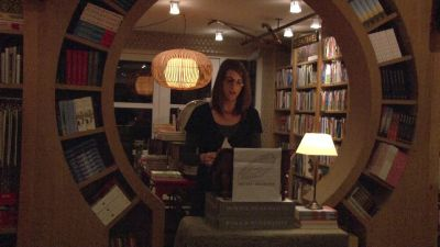 Gwen V. Kordonowy reading 'Recognition'